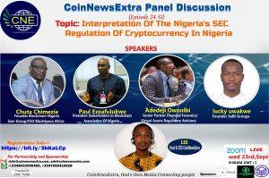 Interpretation of Nigeria's SEC Regulation of Cryptocurrency in Nigeria