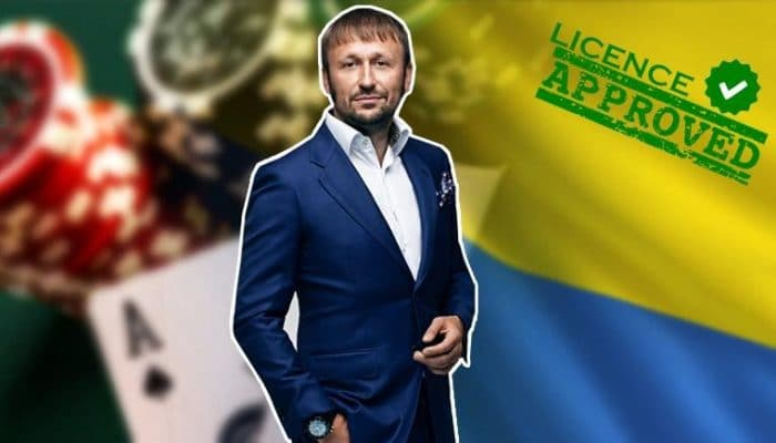 1st online gambling licence issued in Ukraine since 2009 market shut down