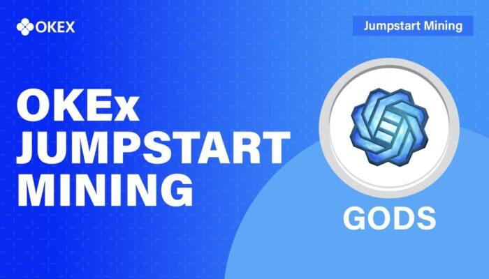 GODS on OKEx Jumpstart