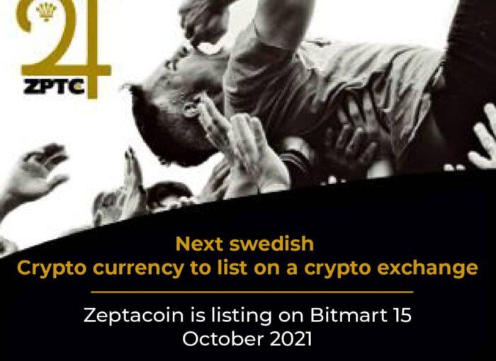 zeptacoin listing